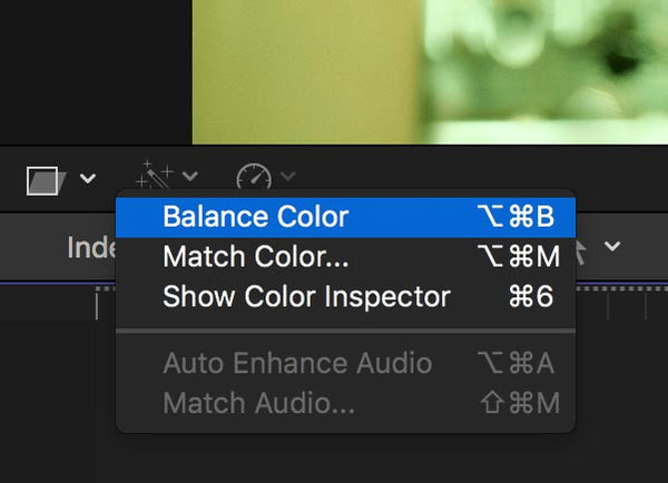 How to Auto White Balance Colours in Final Cut Pro X 10 4