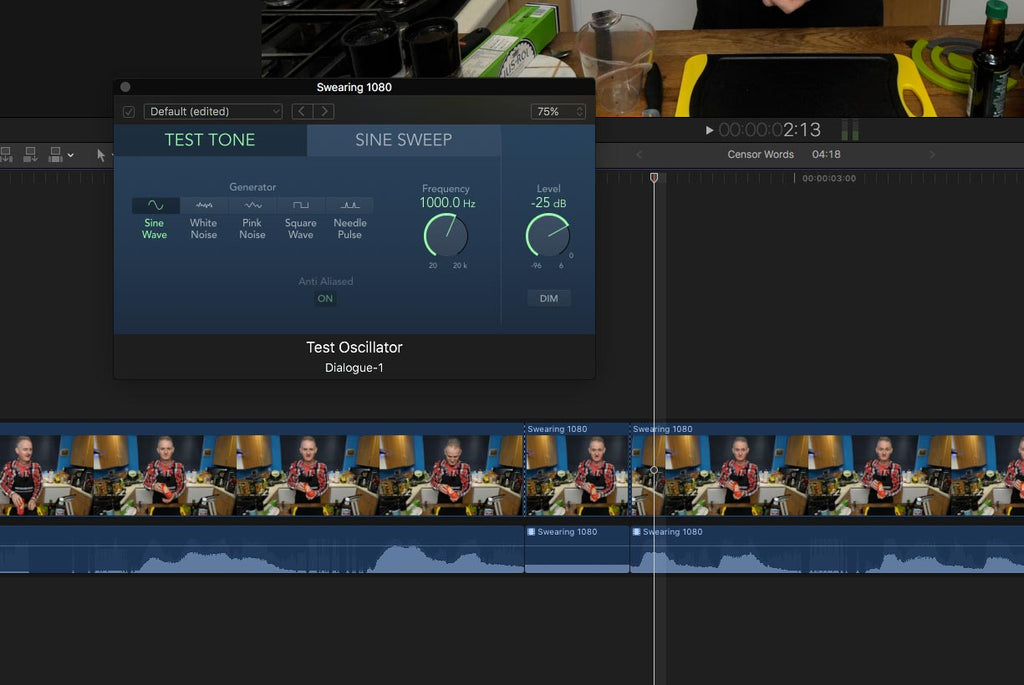 How to Censor or 'Bleep' Words in Final Cut Pro X