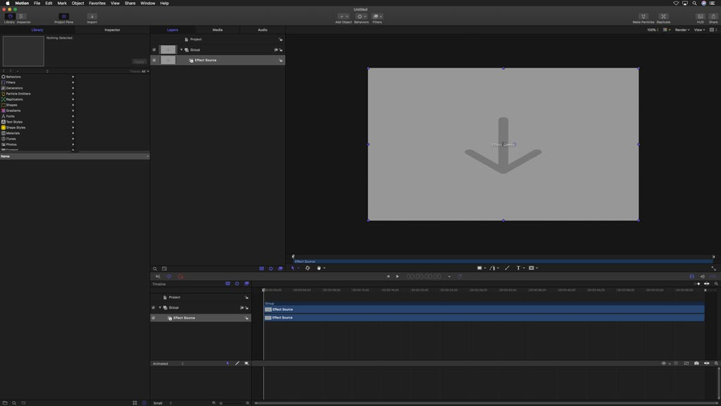 Motion GUI Bourne Flashback Effect for Final Cut Pro X FCPX
