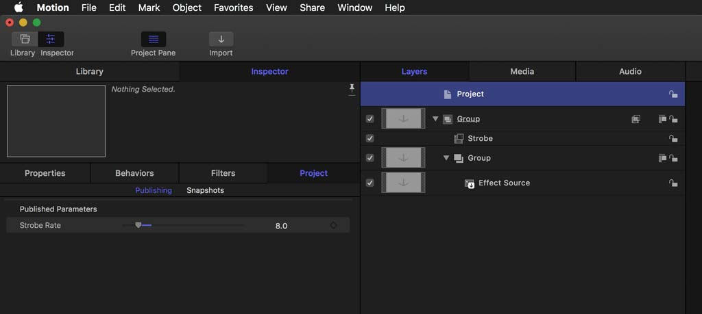 Published Parameter for plugin from Motion in FCPX