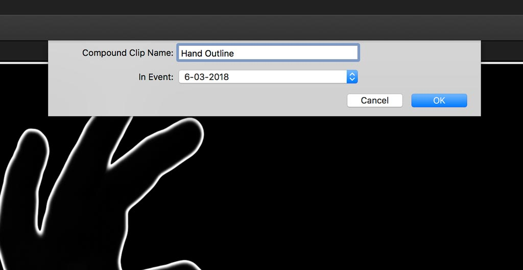 Make a Compound Clip in Final Cut Pro X