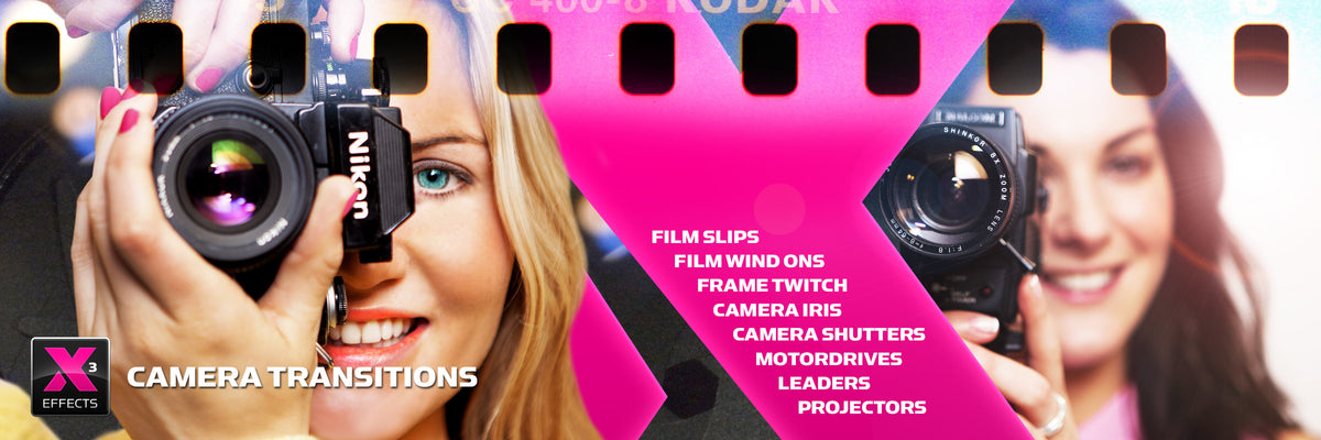 XEffects Camera Transitions for Final Cut Pro X FCPX
