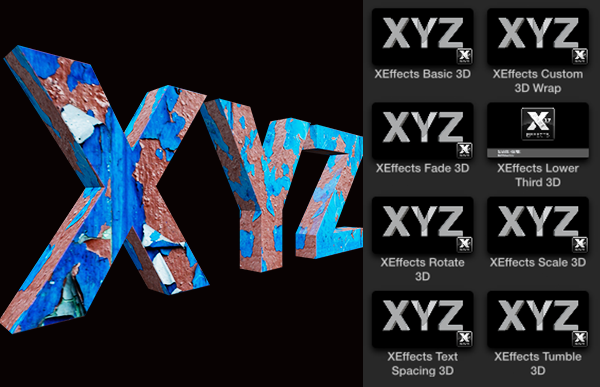 Free Xeffects 3d Text Wraps Title Plugin For Final Cut Pro X