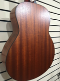 Eastman ACTGE-2 Solid Sapele Travel Guitar W/ Gigbag & Electronics