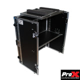 Transformer Series Fold Away DJ Performance Desk Facade W/ Wheels