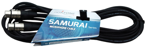 Samurai Series Mic Cable- 3.28'