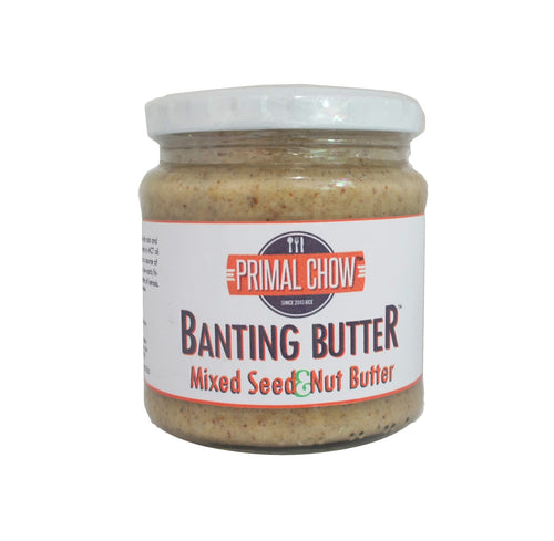 Banting | Nut Butter | Mixed Seed & Nut