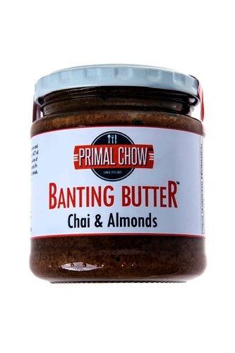 Banting | Nut Butter | Chai & Almond
