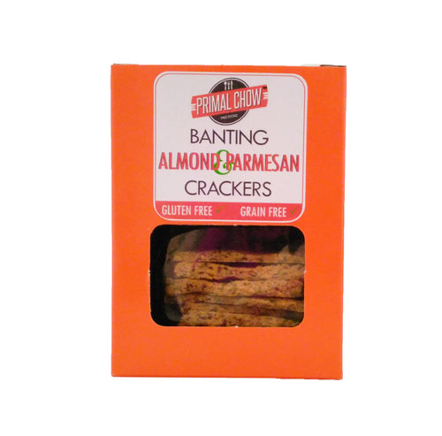 Banting | Crackers | Almond & Parmesan