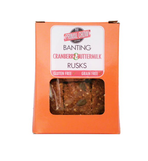 Banting | Rusks | Cranberry Buttermilk