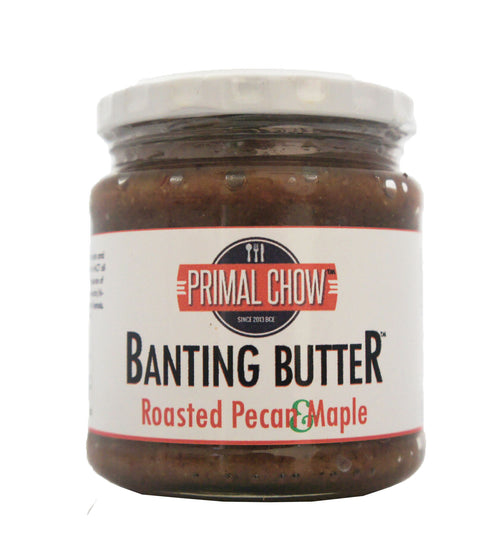 Banting | Nut Butter | Pecan Maple