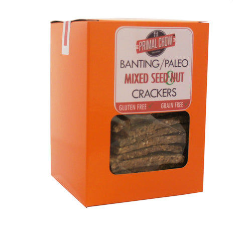 Banting/Paleo | Crackers | Mixed Seed & Nut