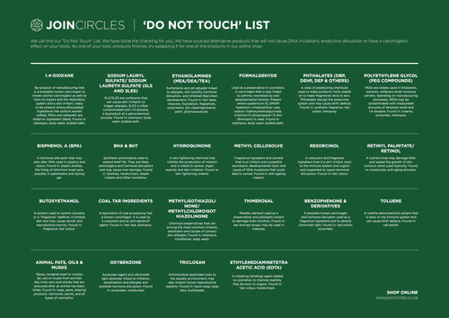 Free | Do Not Touch List