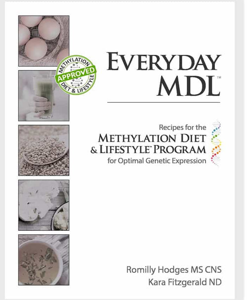 eBook | EVERYDAY MDL: Recipes for the Methylation Diet & Lifestyle Program for Optimal Genetic Expression