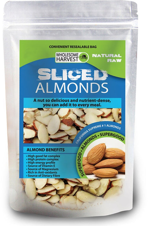 Almonds | Sliced | Raw