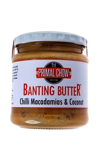 Banting | Nut Butter | Chilli Macadamia Coconut
