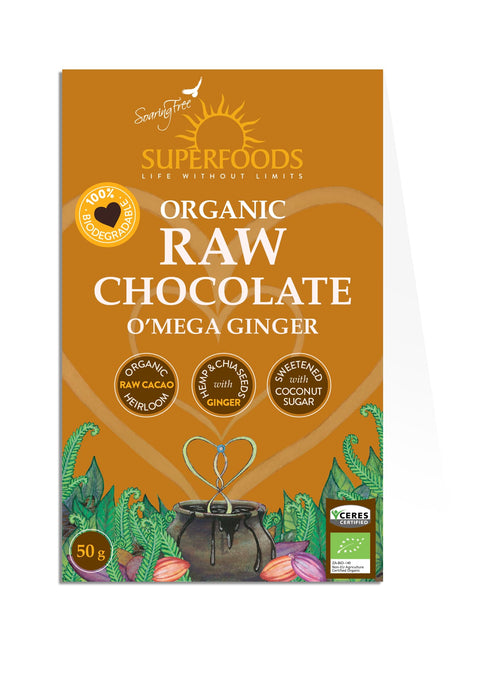Chocolate | Raw | Omega Ginger