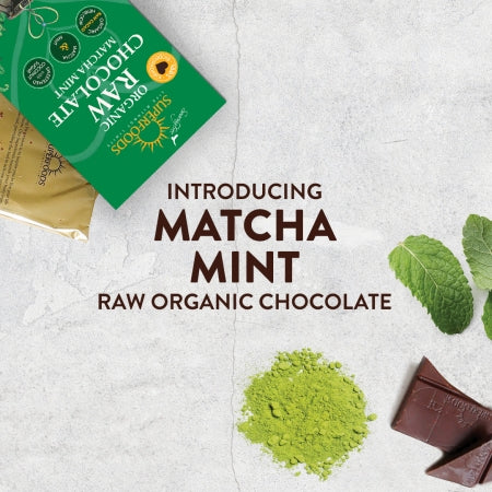 Chocolate | Raw | Matcha Mint