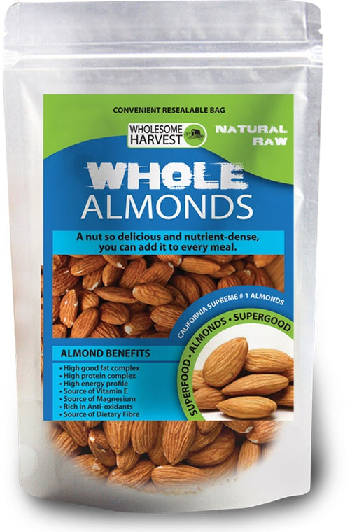 Almonds | Whole | Raw