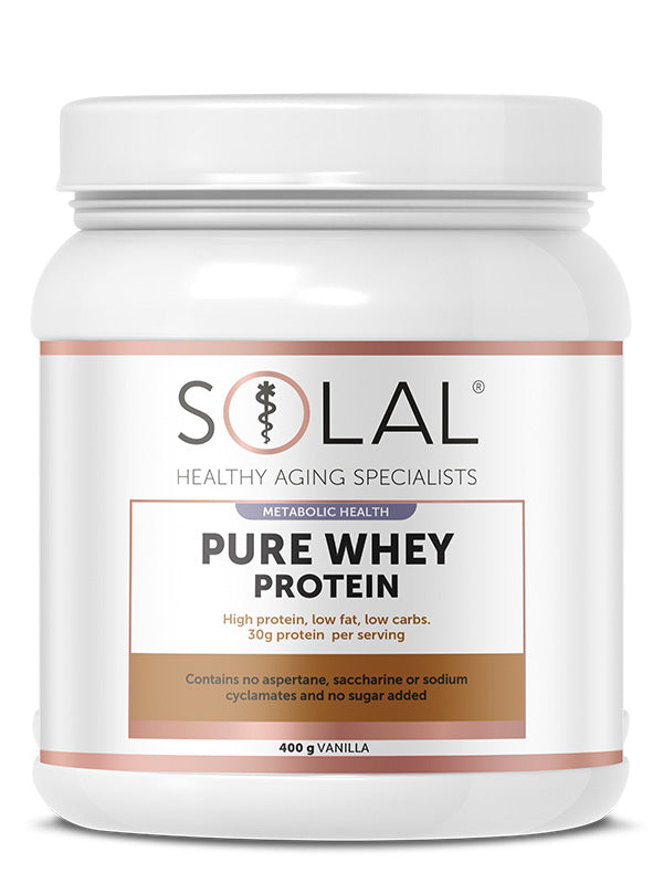 Pure Whey Protein Concentrate – Vanilla