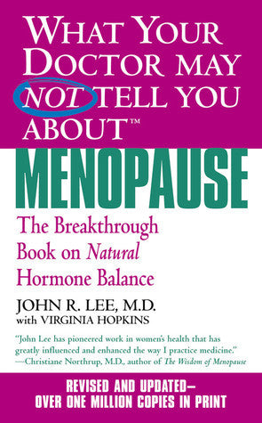 What your Doctor may NOT tell you about | Menopause