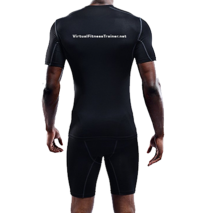 Men's Short Sleeve Athletic Compression