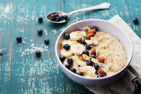 Oatmeal with Protein and Nuts