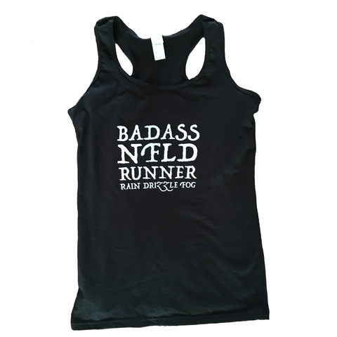 Ladies Badass NFLD Runner Tank