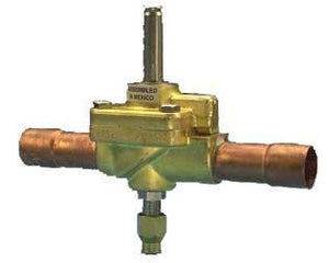 Valve, Solenoid, E6 Body, Extended Connections, Normally Closed, 1/2 x 1/2 ODF