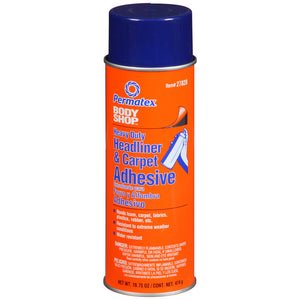 SPRAY CAN,ADHESIVE,HIGH STRENGTH,CLEAR