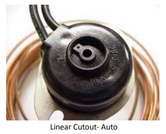 HEATER REPLACEMENT PARTS,CUTOUT LIN AUTO OPEN260F 60X.075 CU
