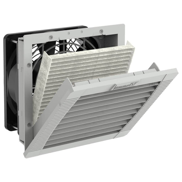 Elec,Panel Fan Kit,28Cfm,115VAC,5.7