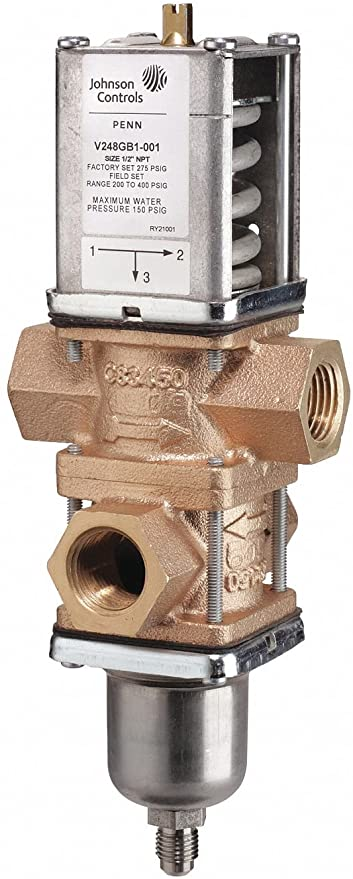 Valve,Water Regulation,3-Way,Proportional Control,Non Spring Return,24VDC,2