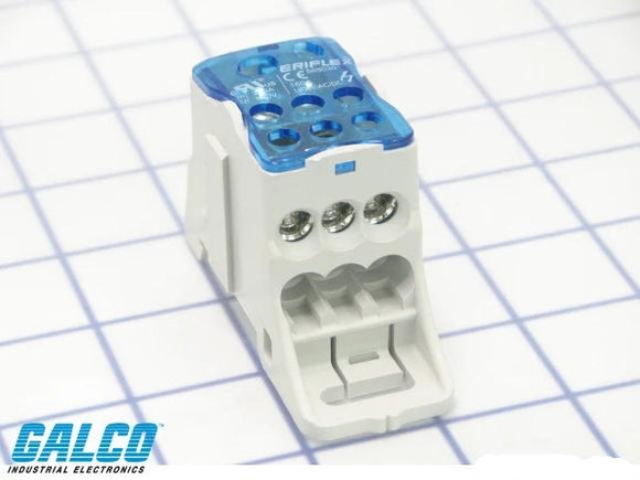 ELEC,POWER DISTRIBUTION BLOCK,1-P,200A,1 OPENING LINE 3/0AWG-8AWG,1 OPENING LINE 2AWG-14AWG, 6 OPENINGS LOAD 4AWG-14AWG