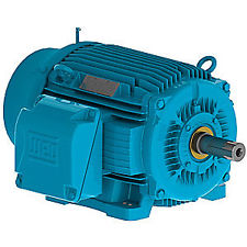 Motor,10Hp,TEFC NEMA Premium,1800RPM, 208-230/460/3/60, Foot Mount, Cast Iron Frame,Die Cast Aluminum Rotor,Terminal Box Left