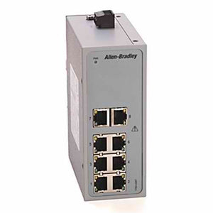 ETHERNET SWITCH, UNMANAGED,8 COPPER PORTS,STRATIX 2000