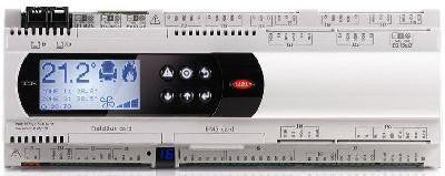 Pre-programmed PLC, With Display Built-in, PCO5, Carel