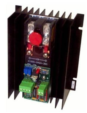 SCR,40A,480V,3 Phase,2-Leg,Zero Cross Firing,0-10VDC,No Transformer