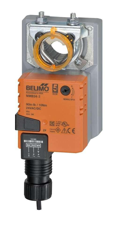 Actuator, ON-OFF, Ball Valve, Direct Coupled, 24V, Non-Spring Return, 10in.lb, 3ft cable