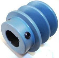 "Pulley, Blower, Two Groove, SK Bushing, 7.75""OD"