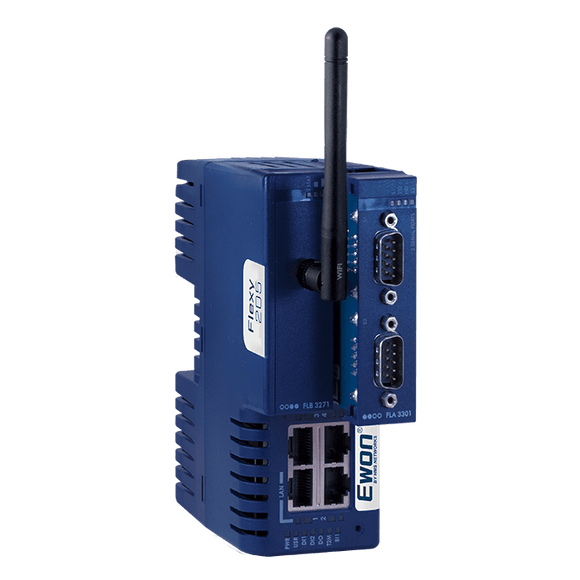 EWON FLEXY205,REMOTE ACCESS ROUTER,4 ETHERNET PORTS LAN/WAN