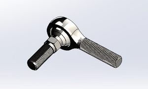 "BALL JOINT,RH,THREAD MALE SHANK W/ RH THREADED STUD,3/8""-24,STUD LENGHT 29/32"",THREAD LENGTH 1-1/4"",STEEL"