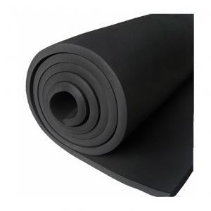 "Insulation, Sheet, Roll 4' X 35' X 1"", Black"