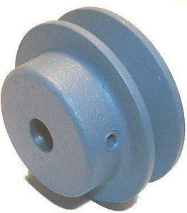 "Pulley, Motor, 8670(1VP71) x 7/8"", 7.10 OD, Single Groove-Fixed BORE"