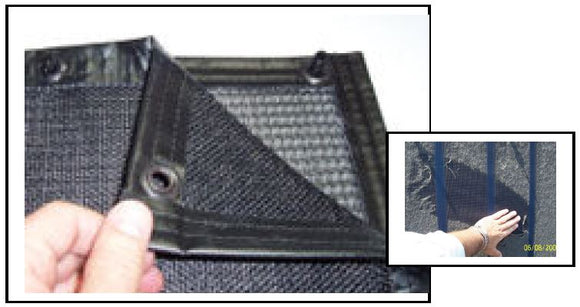 STACKABLE DUAL PLY FILTER,PVC TRACK,NON-MAGNETIC CONNECTORS