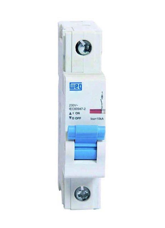 BREAKER, 1-POLE,UP TO 277VAC, 4A, C TRIP,UL1077
