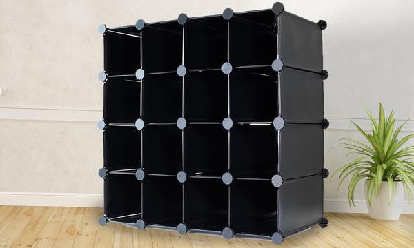 16pc Cube Storage Organiser