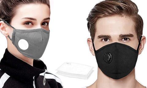 Reusable Mask With 12 Filters