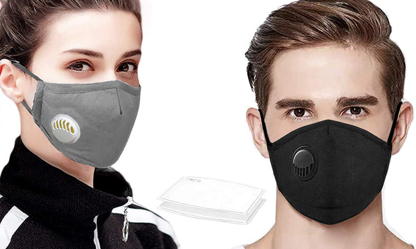 Reusable Cotton Mask with Filter