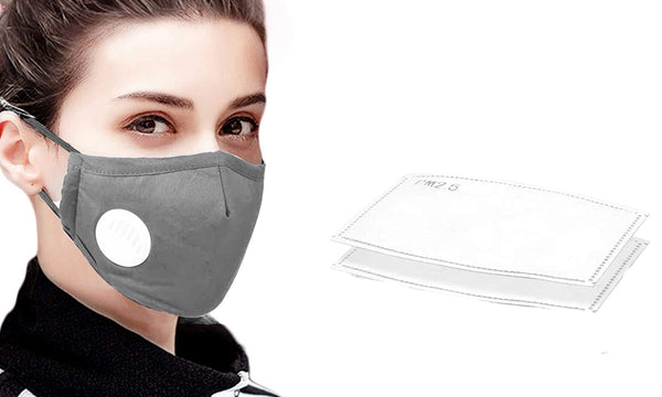 5 or 10 Reusable Mask With Filter